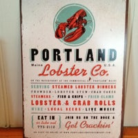 Photo taken at Portland Lobster Company by Joshua on 6/26/2012