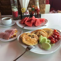 Photo taken at al•fres•co hotel by Karina A. on 1/15/2015