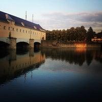 Photo taken at Englischer Garten by Adrian K. on 7/11/2013