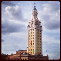 Photo taken at Miami Freedom Tower by Stephen Michael F. on 11/28/2012