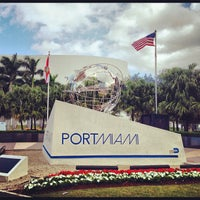 Photo taken at Port of Miami by Stephen Michael F. on 12/1/2012
