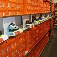 Photo taken at Nike Factory Store by David R. on 4/17/2014