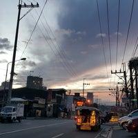 Photo taken at V. Luna Road by Karl Olivier J. on 10/26/2016
