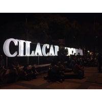 Photo taken at Alun-Alun Cilacap by Luxy P. on 5/3/2016