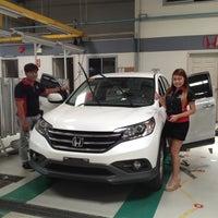 Photo taken at Honda Cars Bulacan by Dada T. on 7/25/2013