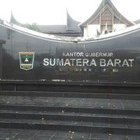 Photo taken at Kantor Gubernur Sumatera Barat by Rocky N. on 11/17/2013