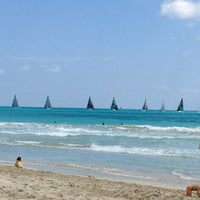 Photo taken at 2nd Street Beach by Gaetano E. on 3/9/2013
