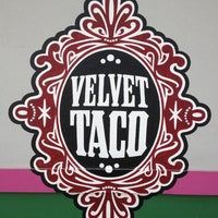 Photo taken at Velvet Taco by Brianna C. on 3/29/2013