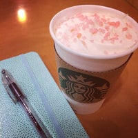 Photo taken at Starbucks by Joanne on 1/29/2014