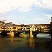 Photo taken at Ponte Vecchio by francesca f. on 7/7/2013