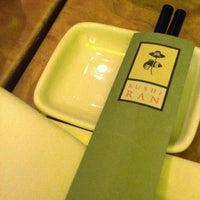 Photo taken at Sushi Ran by Wilfred W. on 5/1/2013