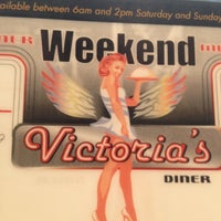 Photo taken at Victoria's Diner by GalwayGirl on 12/15/2012
