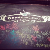 Photo taken at Bordertown Coffee by Andria W. on 3/21/2014