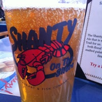 Photo taken at Shanty on the Shore by Jen G. on 2/19/2013