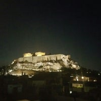 Photo taken at Athens Gate Roof Garden by Luke L. on 8/30/2015