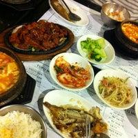 Photo taken at Cho Dang Tofu & BBQ by Liz V. on 10/22/2012