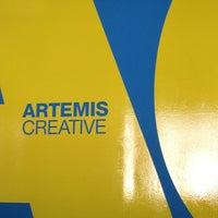 Photo taken at Artemis Creative by Jenna O. on 1/18/2013