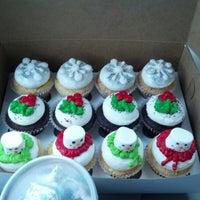Photo taken at HaliHannigan's Cupcakery by Brandy S. on 12/23/2012