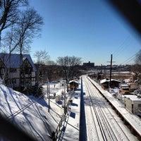Photo taken at LIRR - Douglaston Station by Rob W. on 2/9/2013