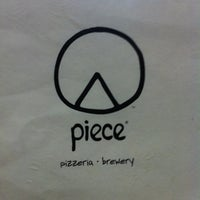 Photo taken at Piece Brewery and Pizzeria by Jason M. on 10/20/2012