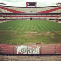 Photo taken at Estadio Monumental (River Plate) by Dmitry K. on 10/1/2013