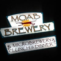 Photo taken at Moab Brewery by Missfashion75 on 9/18/2013