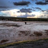 Photo taken at Black Sand Basin by Adam R. on 9/17/2013