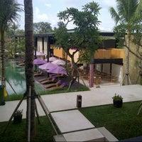 Photo taken at Centra Taum Resort Seminyak by Jeannette L. on 10/8/2012
