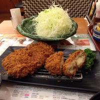 Photo taken at とんかつ新宿さぼてん デリカ大竹店 by kyo_1968 on 6/5/2014