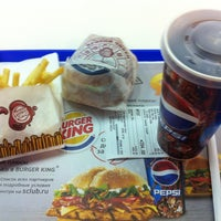 Photo taken at Burger King by Сергей З. on 1/18/2013