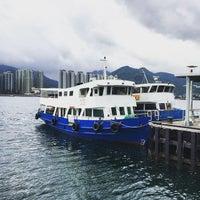 Photo taken at Ma Liu Shui Ferry Pier 馬料水渡輪碼頭 by Alvin B. on 5/2/2015