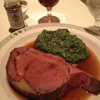 Photo taken at Lawry's The Prime Rib by Brett E. on 12/31/2012