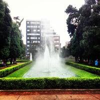 Photo taken at Praça da Liberdade by Raul R. on 3/3/2013