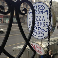Photo taken at Pizza Express by Kate L. on 4/27/2013