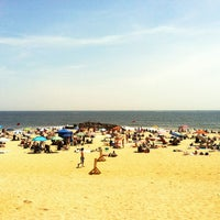 Photo taken at Long Branch Beach by Dina on 6/22/2013