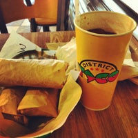 Photo taken at District Taco by Jody F. on 1/23/2013