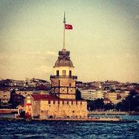 Photo taken at Maiden's Tower by yılmaz a. on 7/11/2013