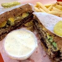 Photo taken at Jim's Famous Quarterpound Burger by Amy M. on 3/19/2015