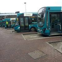 Photo taken at Telford Bus Depot by Dave B. on 4/17/2013