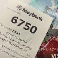 Photo taken at Maybank by Zitaaa on 9/28/2016