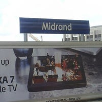Photo taken at Gautrain Midrand Station by Clint S. on 12/8/2012