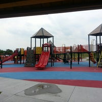 Photo taken at Kid's Cove at Mount Trashmore Park by Amber on 5/18/2013