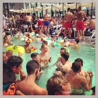 Photo taken at Soho House Rooftop by Jared Y. on 6/29/2013