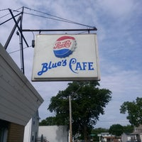 Photo taken at Blue's cafe by Amy C. on 5/27/2014