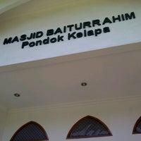 Photo taken at Masjid Baiturrahim by Rahmadi D. on 5/3/2013