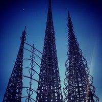 Photo taken at Watts Towers of Simon Rodia State Historic Park by Eduardo S. on 10/30/2012