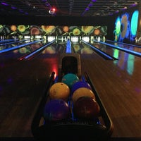 Photo taken at New Roc n Bowl at Funfuzion New Roc City by Stephany R. on 5/18/2013