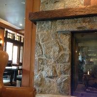 Photo taken at Nita Lake Lodge by Megan R. on 7/14/2013