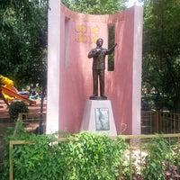 Photo taken at Parque de la China by Juan V. on 6/12/2013