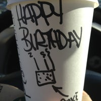 Photo taken at Starbucks by Andrew W. on 10/23/2012